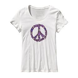 Patagonia Womens Peace Sign T-Shirt #Sale #HerSportsGear