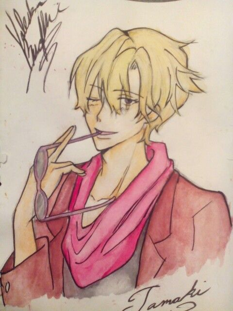 Tamaki Suoh water color