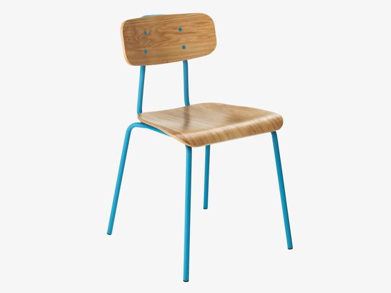 HESTER BLUE Dining chair - Dining Furniture- HabitatUK