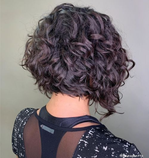 37++ Short curly angled bob hairstyles information