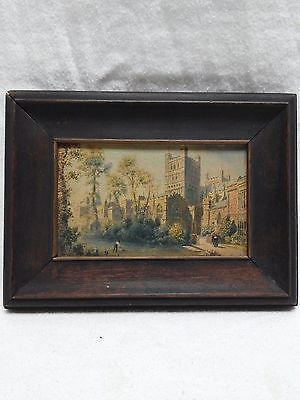 Antique Frame Miniature Impressionist Oil Painting Signed Exeter English Artist  https://t.co/XFoE1X7H9w https://t.co/mgoTBk8lmP
