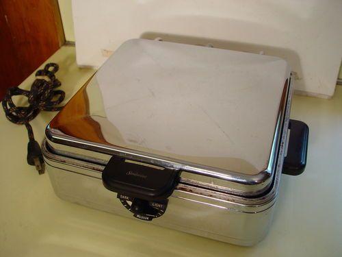 Sunbeam w 2 Vintage 50s Waffle Iron in Original Condition | eBay