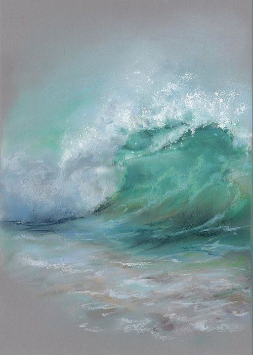 The Wave Greeting Card For Sale By Sophia Rodionov With Images