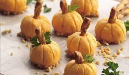 Cheese pumpkins.