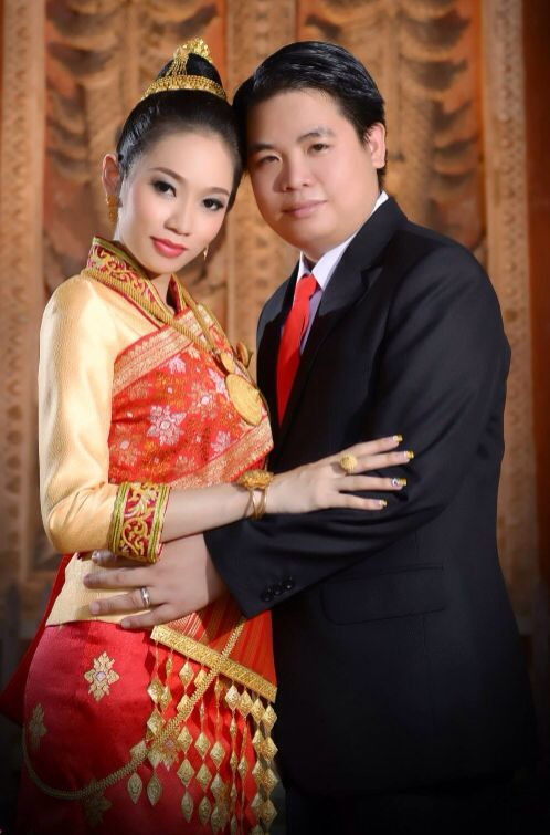 Traditional Lao Wedding Attire Traditional Lao Weddingclothing In