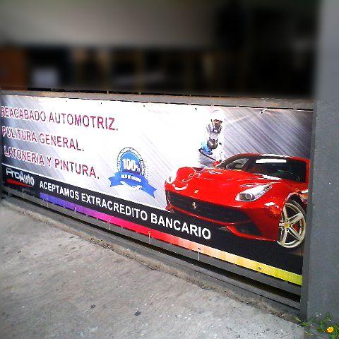 banner impreso a full color