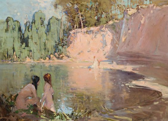 William B. McInnes - The Bathers
