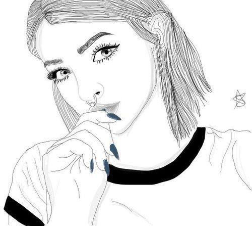 Esta Super Bonito Me Encanta Imagenes De Chicas Dibujadas