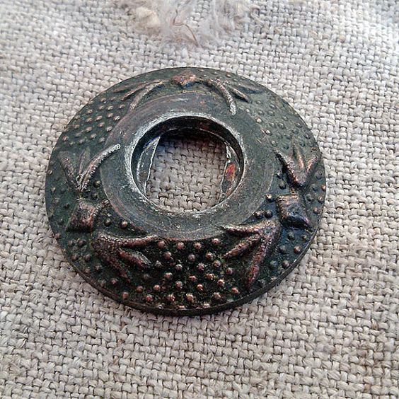 Vintage key hole plate vintage escutcheon Vintage by MyWealth