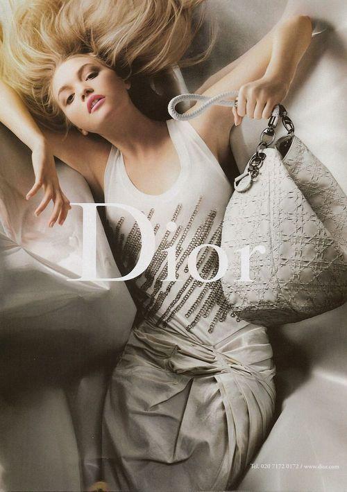 Gemma Ward for Dior