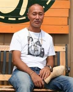 Takashi (Taka) Kobayashi - Japanese tree house builder...he is the first...inspired by our own Pete Nelson here in the United States. He comes from a background as an artist and brings his own unique creative style to his work as well as the Japanese esthetic. He says there is no translation for tree house...they just says it in English.