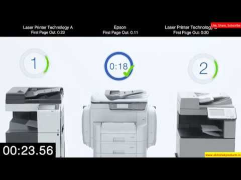 Epson Wf C869r Vs Laser Printers Which Is Better Inkjet Or Laser