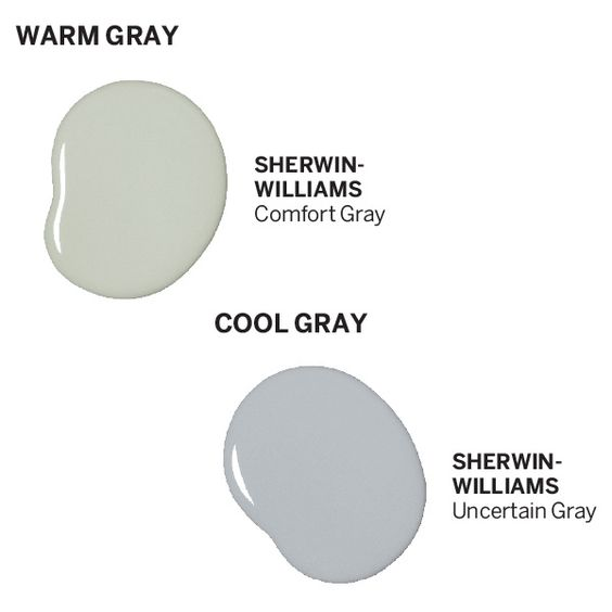 Comfort gray gray and warm on pinterest Sherwin williams uncertain gray