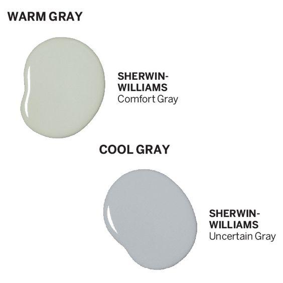 Comfort gray gray and warm on pinterest Sherwin williams uncertain gray