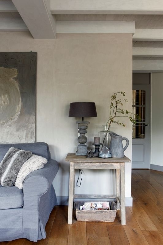 Landelijk stoer met hout op de vloer martkleppe.nl - Interieur ...