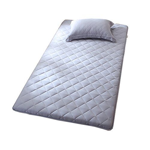 Nclon Breathable Moisture Proof Mattress Topper Thicken Mattress Protector Single Bed Double Bed 100 Cotton Foldable Qu Single Bed Mattress Protector Mattress