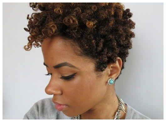 Natural Hairstyles For Short Hair Tumblr