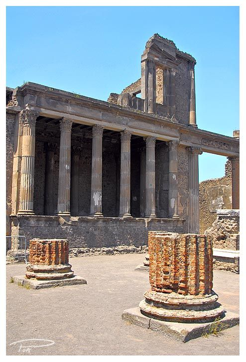 ~~One of my favorite places in Italy--Pompeii Courthouse – Tall