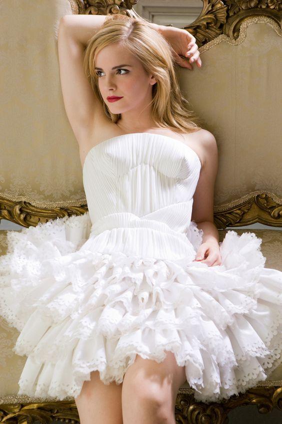 emma watson: Emma Watson, Sexy Celebrity, White Dress, Agius Photoshoot, Harry Potter, Beautiful People, Photoshoot Outtakes