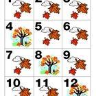 Seasonal & Holiday Calendar Pieces - several designs available - free printables