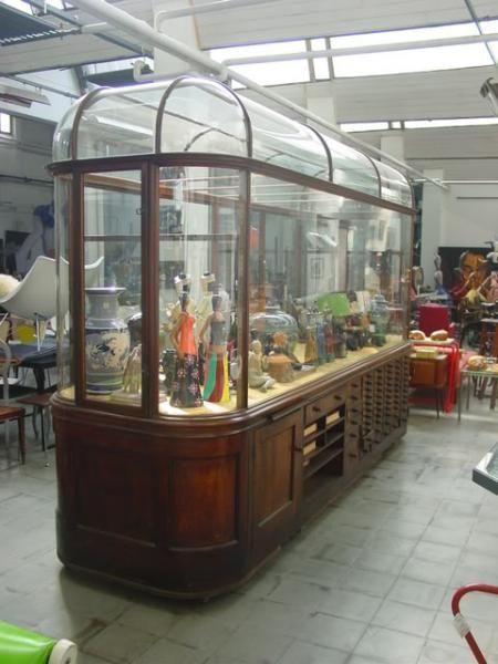 Grande espositore vetrina da museo inglese fine 800 - Mobili fine 800 ...