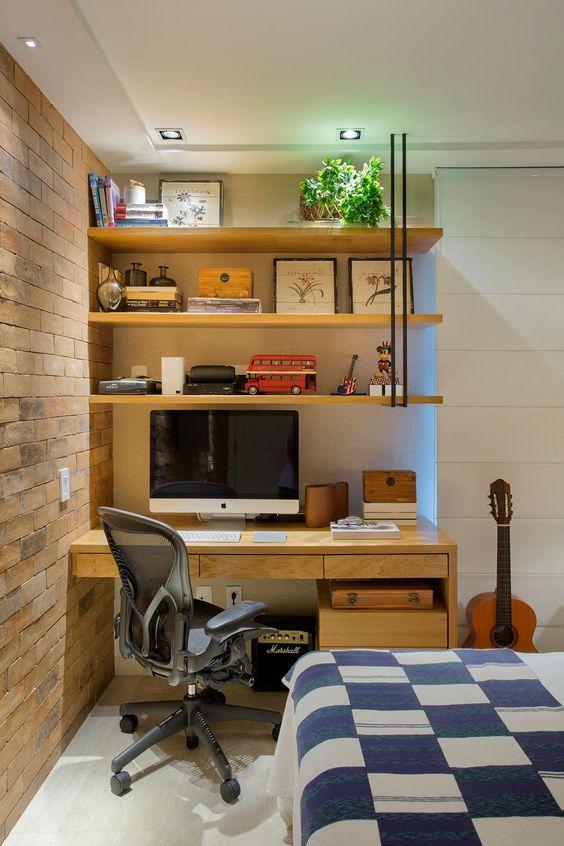 Ideias e inspirações para seu home office