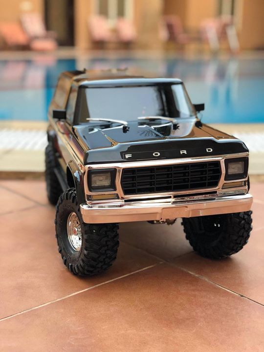 Welcome New Baby The All New Traxxas Trx 4 Ford Bronco First