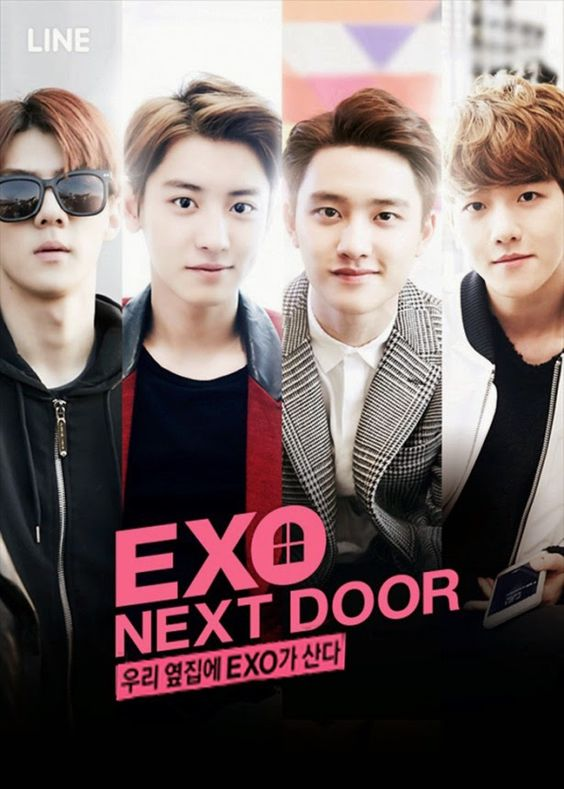 Exotics (fans of the incredibly popular K-pop group EXO) will not be at all surprised to hear that the new web series EXO Next door, starring Chanyeol, D.O., Baekhyun, and Sehun, has officially broken records for web drama views!: