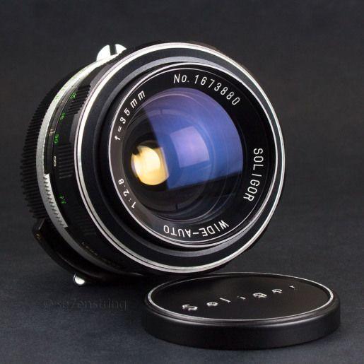 Soligor 35mm F2 8 Wide Angle Lens Nikon F Pre Ai Fit Dslr Adaptable Eos Mft T4 Lenses Vintage Lenses In 2020 Camera Lens Cameras For Sale Vintage Lenses