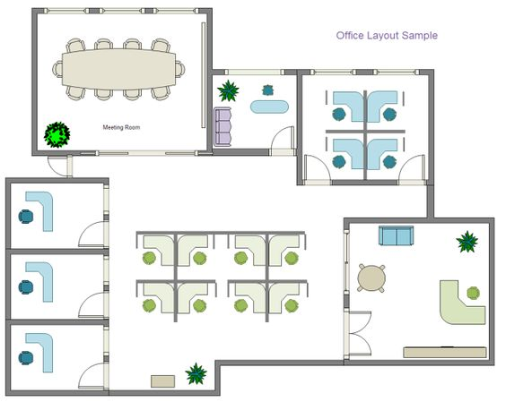 Office Layout Floor Plan Pinterest Layouts - evacuation plan template