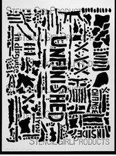 StencilGirl Products New Stencils Artist Designer - Seth Apter