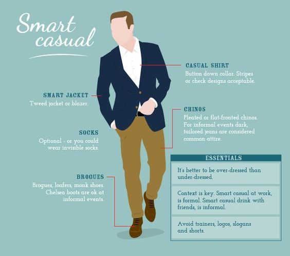 Smart Casual Dress Code guide