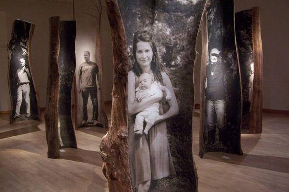 """Emilie Brzezinski: """"Family Trees"""""""