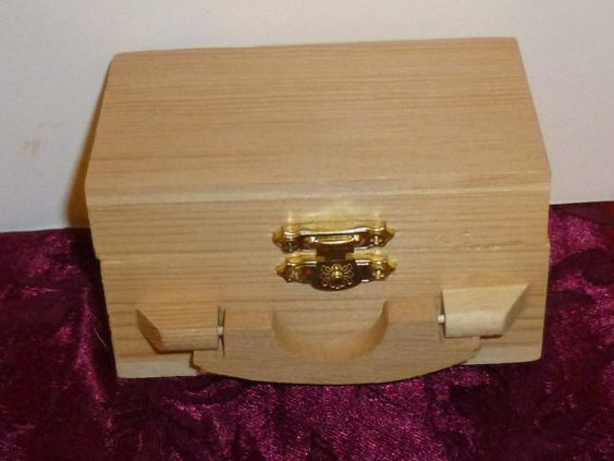 Craft Wood Box by TrueColorsBoutique on Etsy, $3.00