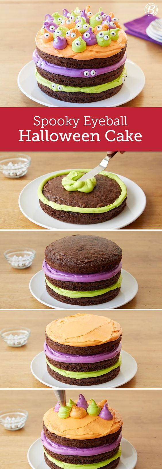 Easy Cake Decorating Love Food : Halloween cakes, Halloween and Somebody s watching me on ...