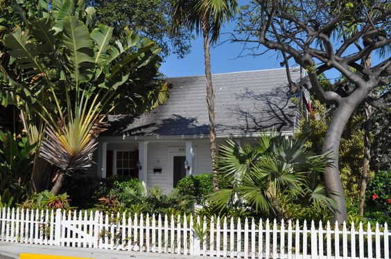 Key West home of author Tennessee Williams, 1431 Duncan Street