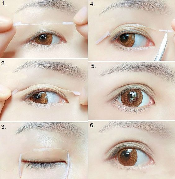 How to Create Bigger Eyes with Double Eyelid Trick