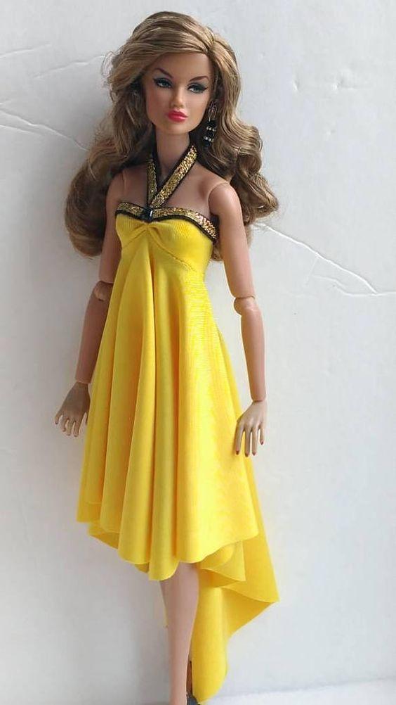12 inch fashion doll dress is one size fits all fashion