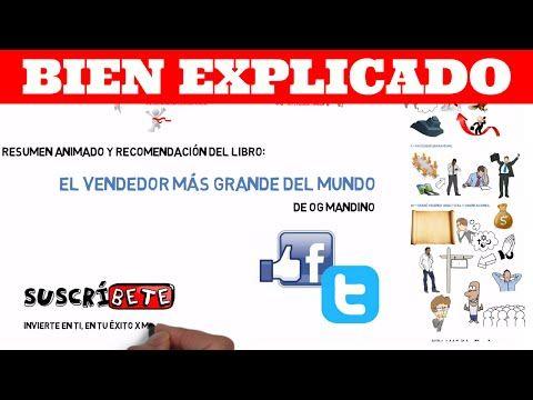 El Vendedor Mas Grande Del Mundo De Og Mandino Resumen Animado Youtube Animo Padre Rico Padre Pobre Resumen