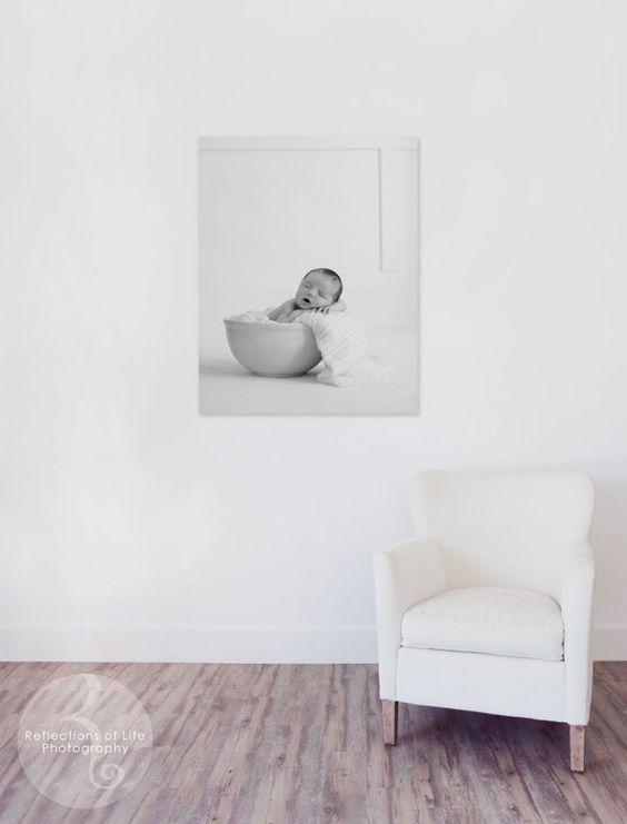 Niagara Newborn Photographer, Custom Wall Art