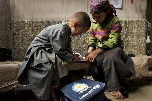 Zahra, 11, Afghanistan 2009 I want to be a teacher when I grow up. Afghanistan needs literacy, said Zahra, an ethinic Hazara. 8 Sept International Literacy Day