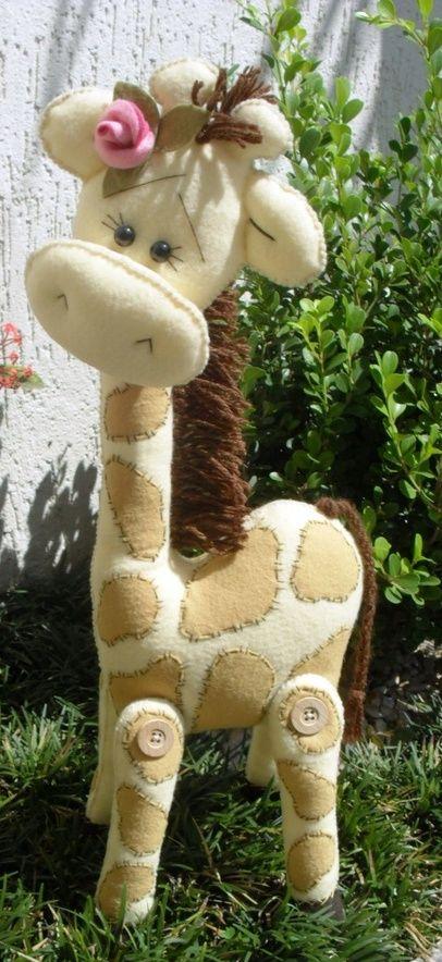 Felting / Happy Giraffe