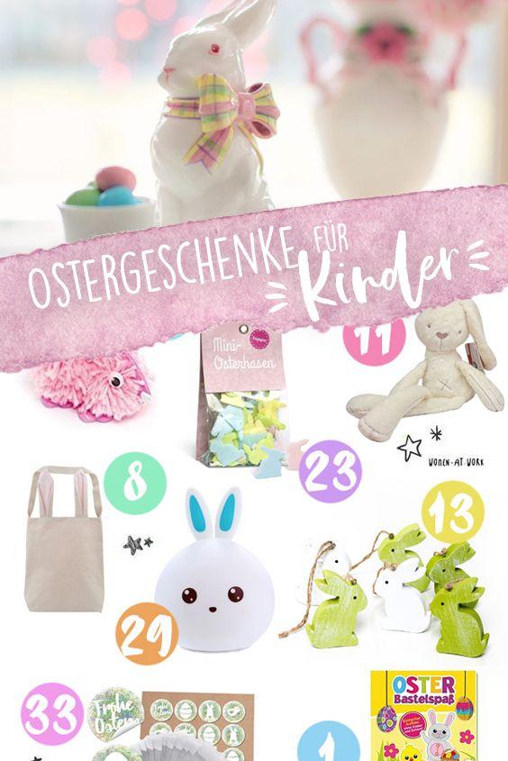 40 süße Ostergeschenke für Kinder