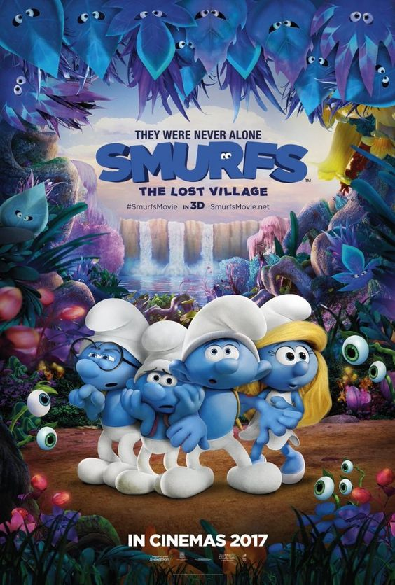 Smurfs: The Lost Village (2017) WEB-DL