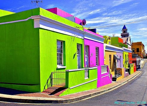 South Africa: Top Cape, Colorful Houses, Colorful Building, Beautiful Color, Colorful Town, Cape Town