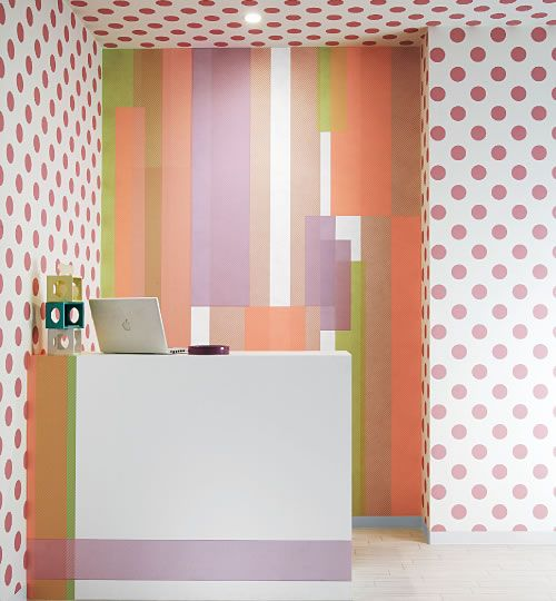 What happens when washi tape turns wallpaper...creativity!