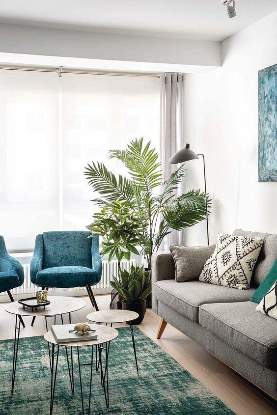 Een palm in je huis terwijl je geen gorene vingers hebt? Kies voor deze grote kunstplant