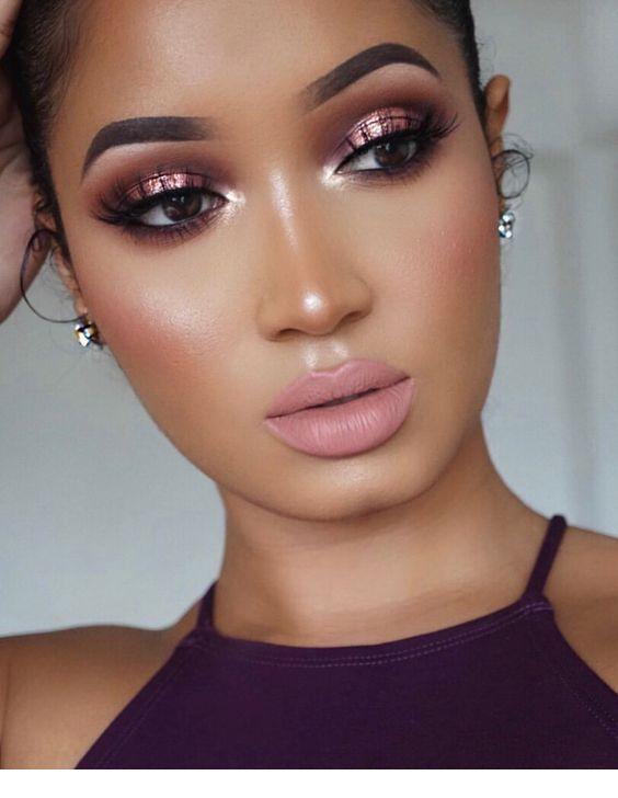 Everyday Makeup Looks Natural Makeup Looks No Makeup Makeup Affordable Makeup Products Holygrail Makeup Prod Warm Makeup Pink Makeup Makeup For Black Women