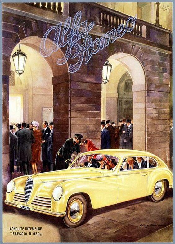 Alfa Romeo 6C 2500 - brochure