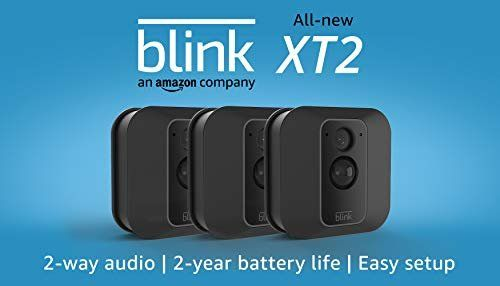 Amazon Com Blink Xt2 Outdoor Indoor Smart Security Camera With Cloud Storage Included 2 Way Au Security Cameras For Home Home Security Systems Amazon Devices